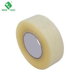 La cinta de embalaje sellado caja transparente de 48mm x 66m, la cinta de embalaje BOPP fundido