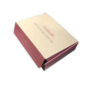 Eco-Friendly recicláveis Papelão Natural de luxo sabonete artesanais caixa de embalagem
