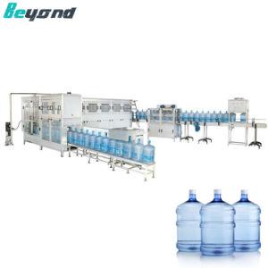 5 Gallon All-Round Rinçage automatique du fourreau de machines de remplissage de l'eau