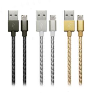 Высокое качество металлической проволоки прочного быстрая зарядка и передача данных Micro USB-кабель для Android телефон
