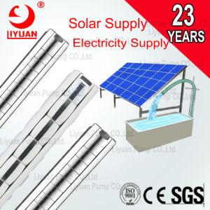 4 2CV pozo una bomba eléctrica solar Booster / 24V 48V, 220V, 380V