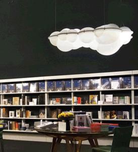 Kunst-dekoratives Acryl bewölkt hängende Lampe (9224P)