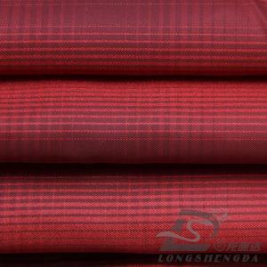 50d 340t Tecidos Jacquard Plaid 100% de tecido de poliéster (R53209UZ)