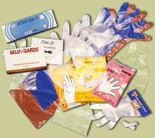 LDPEの使い捨て可能な手袋
