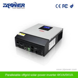 中国の製造者4000va 48V太陽MPPTインバーター単一フェーズの純粋な正弦波の太陽電池パネルインバーター