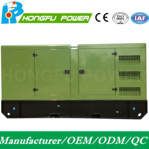 250kw 313kVA Puissance Cummins insonorisées Générateur Diesel avec régulateur électrique