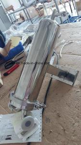 De aan de muur bevestigde Huisvesting van de Filter van de Patroon van het Roestvrij staal Enige met Flens/bout snel vast/Klem