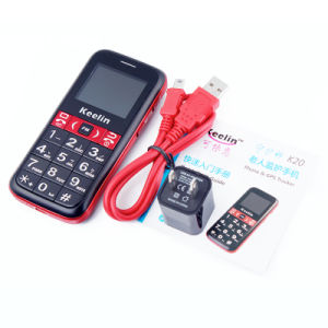 Grandi anziani di inseguimento dell'altoparlante del telefono mobile sbloccati GSM del sistema GPS per gli anziani