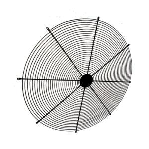 Проволочной сетке раунда ограждение вентилятора для вентиляции промышленных электровентилятора системы охлаждения двигателя