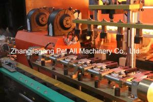 Semi-automático máquina de soplado de botellas de 4 cavidades para la fabricación de plástico pueden