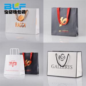 Custom высокое качество бумажных мешков для пыли магазинов (BLF-PB001)