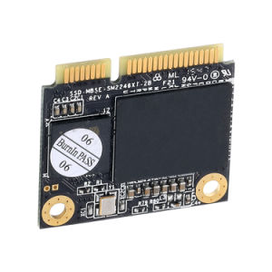 La moitié de la taille de disque dur SSD MSATA Kingspec 64 Go de 128 Go de 256 Go de 512 Go Mini Msata