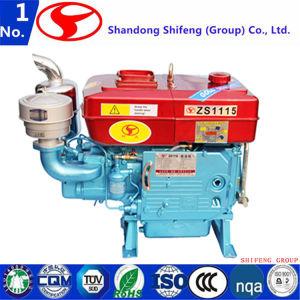De lucht koelde de Dieselmotor van de Aandrijving van de Generator