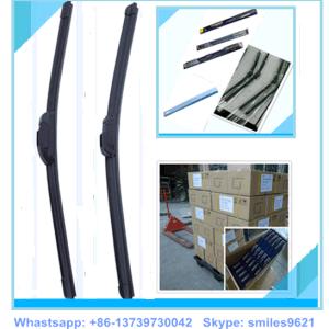Flacher Windfang-vordere allgemeinhinwischerblätter