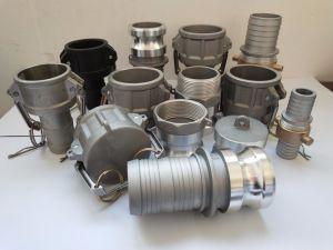 O alumínio e aço inoxidável/PP/Acoplamento da Mangueira de latão /acoplamento/Peças da Válvula