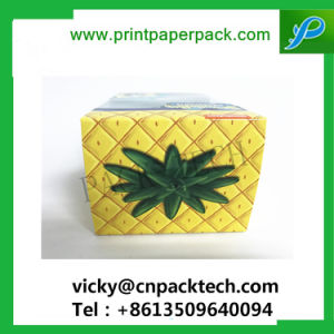 Ecológica personalizada cartón cajas de embalaje de alimentos a favor de los niños de papel de Chocolate Caja con ventana de PVC