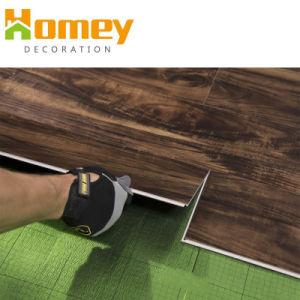 mattonelle di pavimentazione materiali del PVC della plancia del vinile di Spc di scatto di 4mm WPC