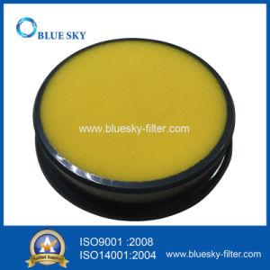Espuma amarela laváveis e reutilizáveis filtros para o Eureka Dcf25 aspirador de pó