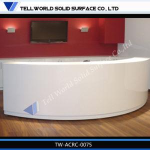 Искусственный камень управление круглой стойкой регистрации дизайн мебели