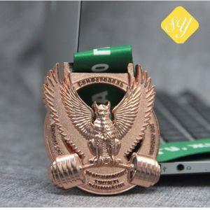 Fábrica de alimentação os Religiosos Honra Custom cintilantes Award Sports Fita Medal
