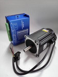 86mm de alto par 2 Fase 12n. M China NEMA 34 cerró el motor de pasos para Router CNC