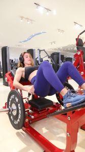 Оборудование для фитнеса спортзал для ягодиц мост (HS-1049)