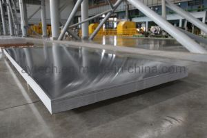 Personalizada de Fábrica Grau Marinho 3003 5052 5A06 5083 H116 6061 7075 Ligas de alumínio da chapa de alumínio/Alumínio Planície de alumínio // Placa com a película PE Um Lado