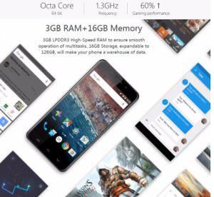 Metal Ulefone 3GB de RAM 16GB RM 5 Polegada Smart Phone
