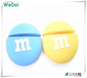 Прелестная M&M шоколад памяти USB Memory Stick для рождественских подарков (WY-PV08)