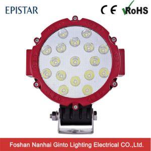 Высокое качество 51W 7 дюймовый светодиодный фонарь рабочего освещения