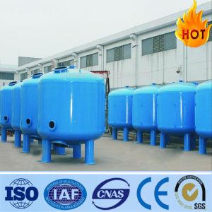 Filtro de arena industrial para el tratamiento de agua