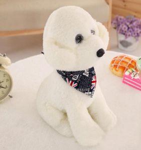 Fofo cachorro de pelúcia animais taxidermizados Toy