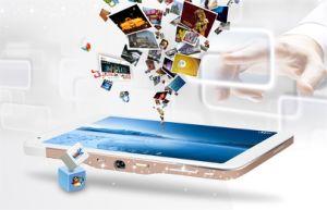 Аккумуляторная батарея для Android OS HDMI индикатор беспроводной технологии Bluetooth Штатив мини-Smart проектор