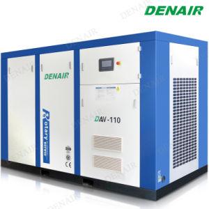 Motor eléctrico de velocidad variable de inversor/VSD compresor de aire de tornillo