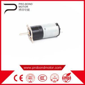 6V cepillo eléctrico pequeño Motorreductor para herramientas de jardín