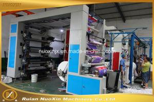 4 цвета/6-цветная бумага тип стека Flexographic печатной машины