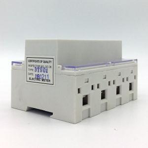 Счетчик энергии DIN серии Dts-4r установленный Rial трехфазный электронный