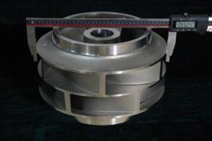 ISO9001: Ventola personalizzata fonderia 2008 di doppia aspirazione della pompa della parte del pezzo fuso di precisione del fornitore del Guangdong