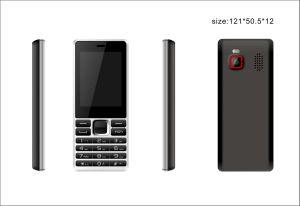 De in het groot Mobiele Telefoon van de Telefoon van de Cel van de Eigenschap SIM van 2.4 Duim Mini Fundamentele Geopende Dubbele Dubbele Reserve Mobiele voor Persoon Elederly