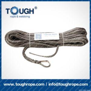 Fibra 100% resistente de Uhwmpe da corda da corda sintética cinzenta do guincho 4X4 da cor 11.5mmx30m