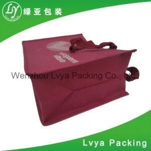 재사용할 수 있는 Ppwoven는 형식 디자인을%s 가진 운반물 쇼핑 백을 박판으로 만들었다