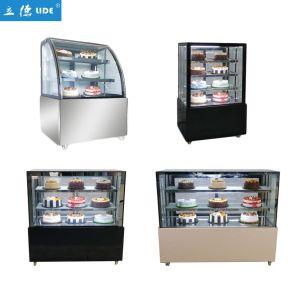 Ce aprobada pastel Mostrar Fabricante Mayorista de refrigerador