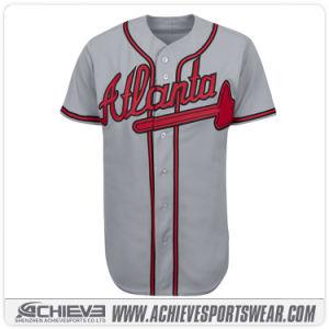Baseball sublimato poliestere poco costoso Jersey della squadra di DIY 100%