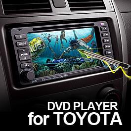 6.5  Toyota (MDV-8803)에서 차 에서 돌진 DVD 플레이어