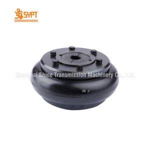 플랜지와 허브를 가진 F090 타이어 연결
