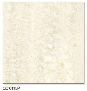 Tuile Polished de porcelaine de double charge (QC6115P)