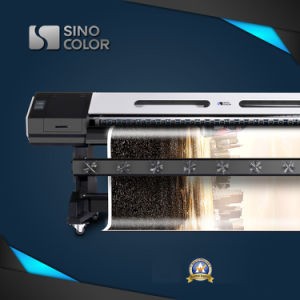 3.2m Dx7ヘッド1440年のDpi Sinocolor Sj-1260 Ecoの溶媒プリンター