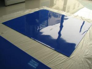 유리제 Laminator를 위한 진한 파란색 실리콘 막 스페셜