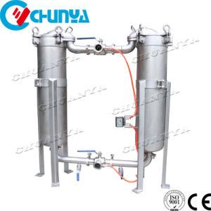 Filtration de l'eau en acier inoxydable Duplex Sac parallèle Logement du filtre à cartouche