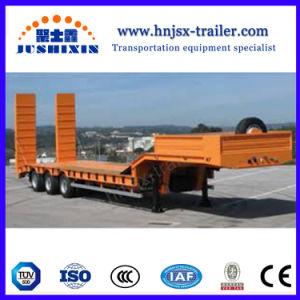 Semirimorchio basso basso del camion della piattaforma della base 3axles di Gooseneck caldo di vendita 14.5meters